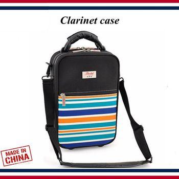 Clarinet accessories - Clarinet case - Bb Clarinet senior bag, hard case portable single-shoulder backpack - Clarinet parts фото