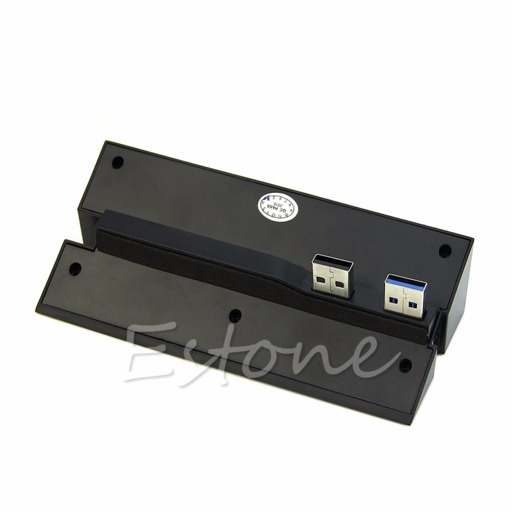 USB 2.0/3.0 Hub Extender Splitter Adaptateur Convertisseur 5 Port Pour PlayStation 4 PS4-L059 Nouvelle chaude