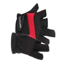 High grade dew with three antiskid waterproof outdoor fishing font b gloves b font font b