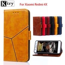 Xiaomi Redmi 4X case cover Redmi4x case flip cover back leather silicone hard coque K