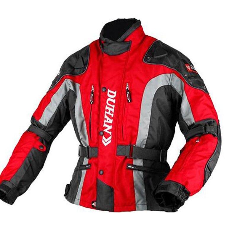 Une vente DUHAN hiver Moto veste Moto costume vêtements de protection - 4