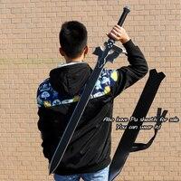 Sword art online SAO Kirito/Kirigaya Kazuto Elucidator/Koyu Repulser/siyah kılıç cosplay anime pu kılıç SAO32