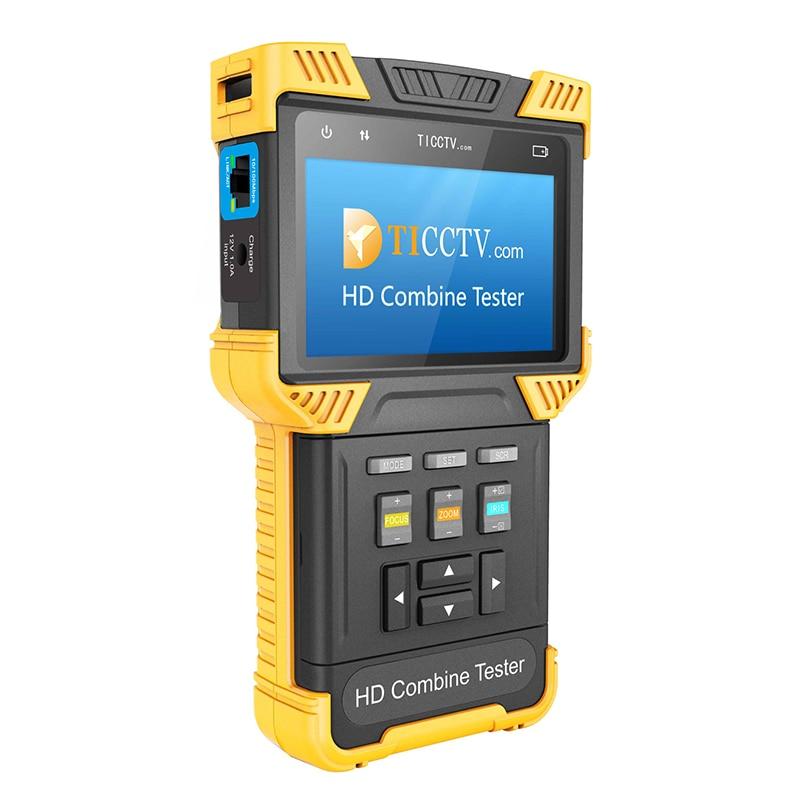 Kaycube DT-T60 CCTV 1080P IP Analog Camera 4.0 Inch HD Combine Tester ONVIF 2.4.1 RJ45 BNC 12V 1A Power Output