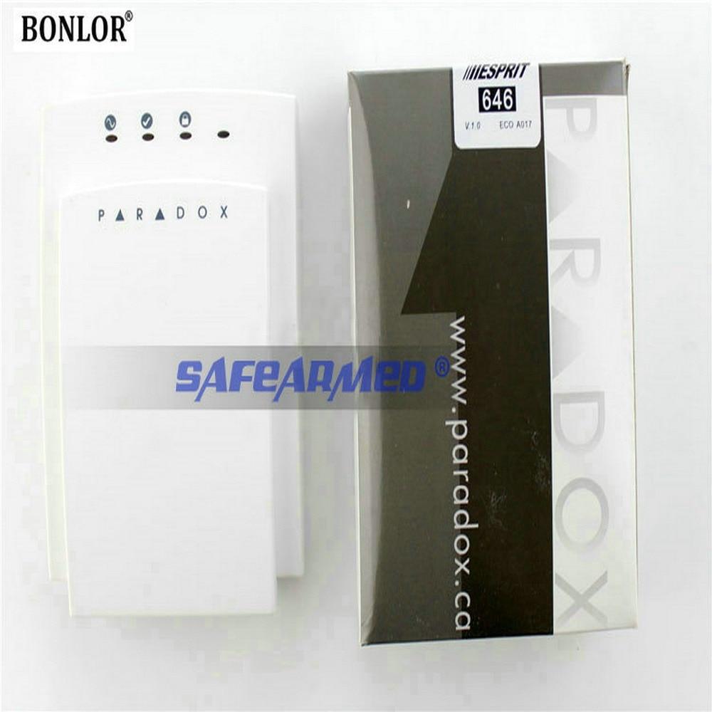 (1pcs) Free shipping Paradox Security Alarm Control Panel Exclusive Using Soft Silica Gel Alarm Keyboard PA-646 paradox alarm control system keypad pa 636