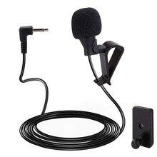 Внешний Bluetooth микрофон 4,5 В, для автомобиля, Pioneer, микрофон, стереосистема, радиоприемник, разъем 2,5 мм, 3 м, Polar Pattern