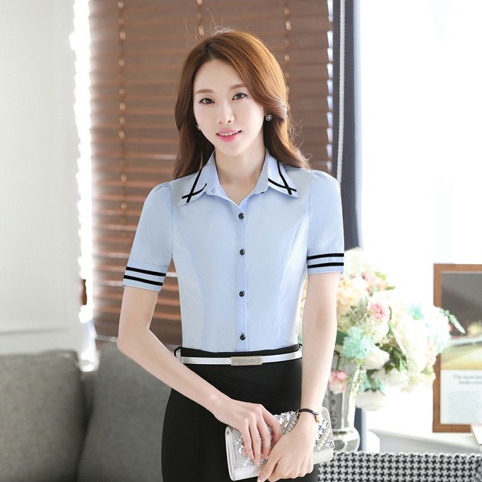 Compare Prices on Ladies Short Sleeve Work Shirts- Online Shopping ...
