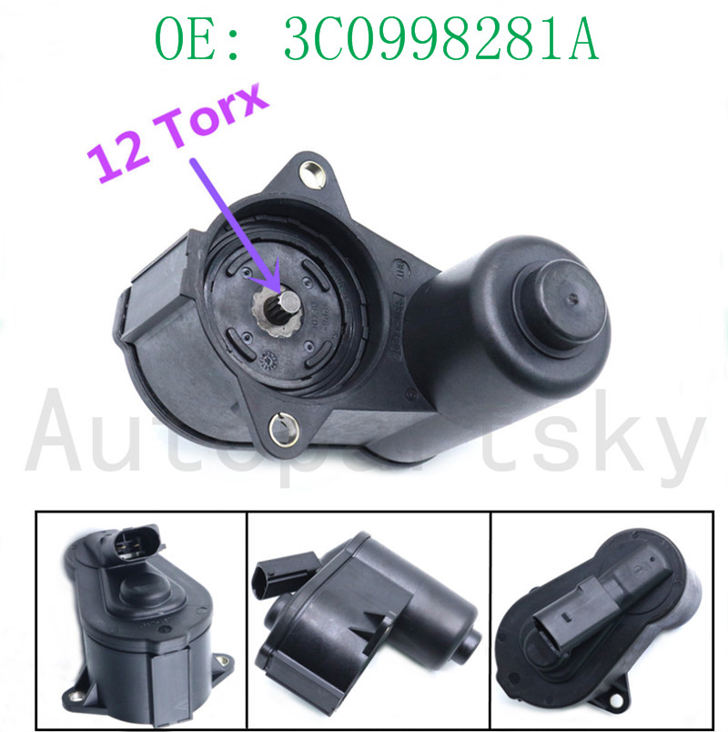 12-TORX Servo Motor for Brake Calliper For VW Tiguan Sharan AUDI 32332267D