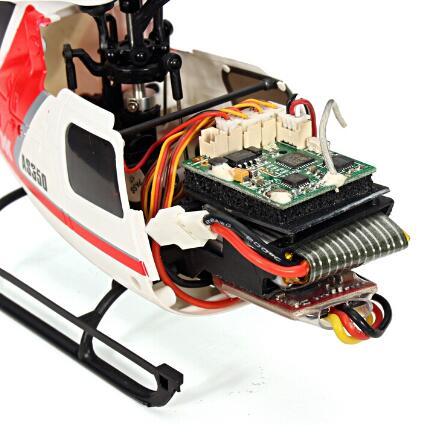 XK K123 BNF wersja 2 (bez pilot zdalnego sterowania, baterii, ładowarki) tylko helikopter bezszczotkowy AS350 skala 3D6G System w Helikoptery RC od Zabawki i hobby na  Grupa 3