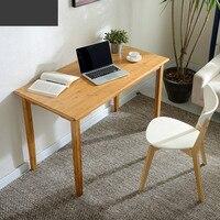 Простой офисный компьютер Рабочий стол домашний стол небольшой деревянный стол простой современный бюро мебель столы