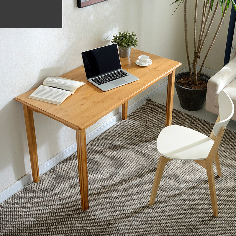 Simple office computer desk home desk small wooden table ...