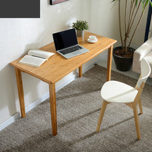 Simple office computer desk home desk small wooden table simple modern desk office tables furniture