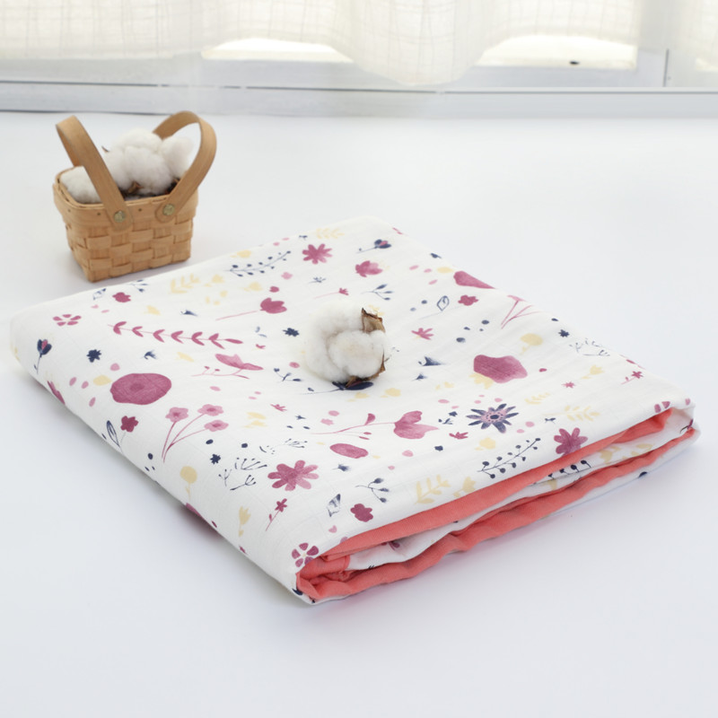 new four layer Bamboo+ cotton Baby muslin blankets Swaddles Newborn Blankets Gauze infant wrap sleepsack swaddleme bath towel 6 layers muslin cotton baby blankets swaddles newborn wrap gauze crown children blankets infant bath towel size 150 200cm