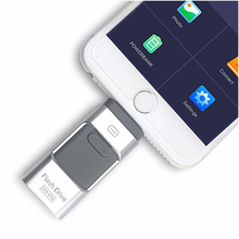 Buy 128GB for iPhone USB Flash Drive, iOS Memory Stick, iPad External Storage Expansion for iOS Android PC Laptops (Silver 128GB ) directly from merchant!