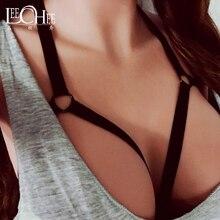 Leechee женское сексуальное белье размера плюс повязка на грудь в комплекте открытый бюстгальтер с вырезами сексуальный бюстгальтер эротическое нижнее белье порно костюмы sexo n280