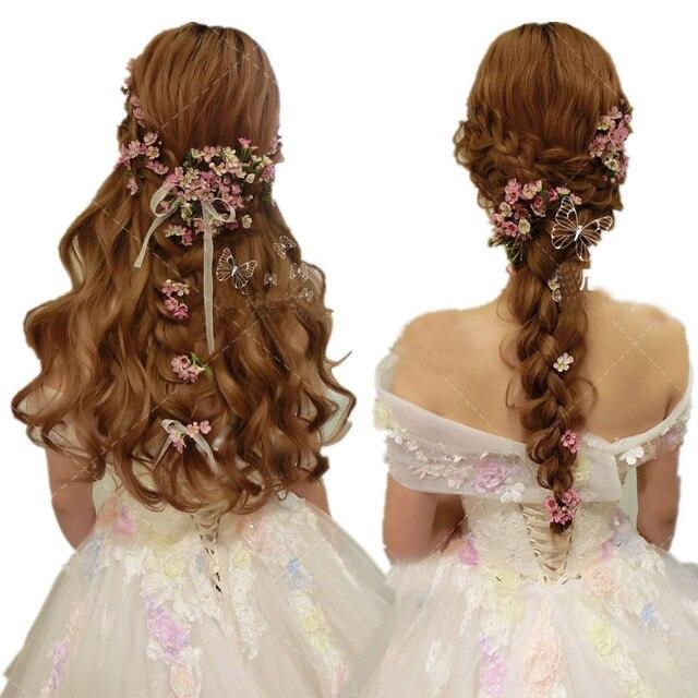 Hochzeit Braut Haarschmuck Brautjungfer Frauen Haarschmuck Blumen