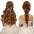 Wedding bridal hair accessories Bridesmaid Women Hair Jewelry hair flowers wedding party Hair pin Clip Wedding jewelry Hairpins