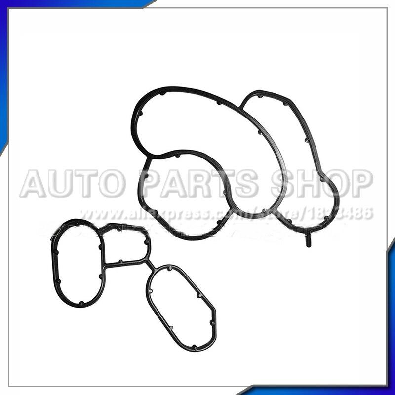 2017 Масляный Радиатор бесплатная Доставка! автомобильные Аксессуары Высокого Качества Части Двигателя Прокладка Масляного Насоса для E46 E90 …