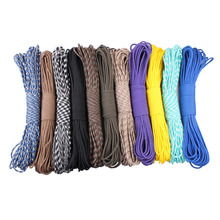 New Paracord 550 Paracord Parachute Cord Lanyard Rope Mil Spec Type III 7 Strand 100 FT FREE SHIPPING 80 colors for your choose paracord 550 rope type iii 7 stand 100ft paracord parachute cord outdoor camping survival kit wholesale
