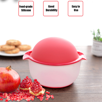 Silicone Pomegranate Peeler Machine Home Kitchen Fruit Tools Gadgets Pomegranate Peeling Bowl Practical Kitchen Accessories