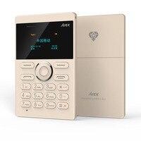 Pre Sell 2016 New Card Phone AIEK E1 Cell Phone PK Mini PhoneiFcane E1 Mobile Phone