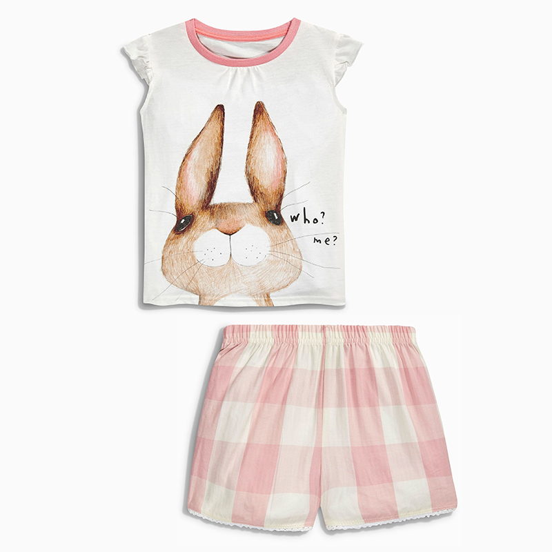 Girls Sets Children Clothing 2017 Brand Baby Girls Summer Clothes Kids Tops+Shorts Tracksuit Animal Striped Girls Outfits