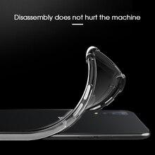 Silicone TPU Case For Samsung Galaxy A7 A9 2018 M20 M10 Clear Airbag Anti-Drop Cover For Samsung Galaxy A6 A8 Plus 2018 A8S A9S