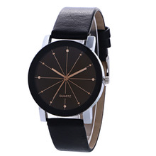 Lovers quartz watch simple fashion business multi color Watch Belt spotting Watch Student Watch swatch watch original color series quartz watch suon115