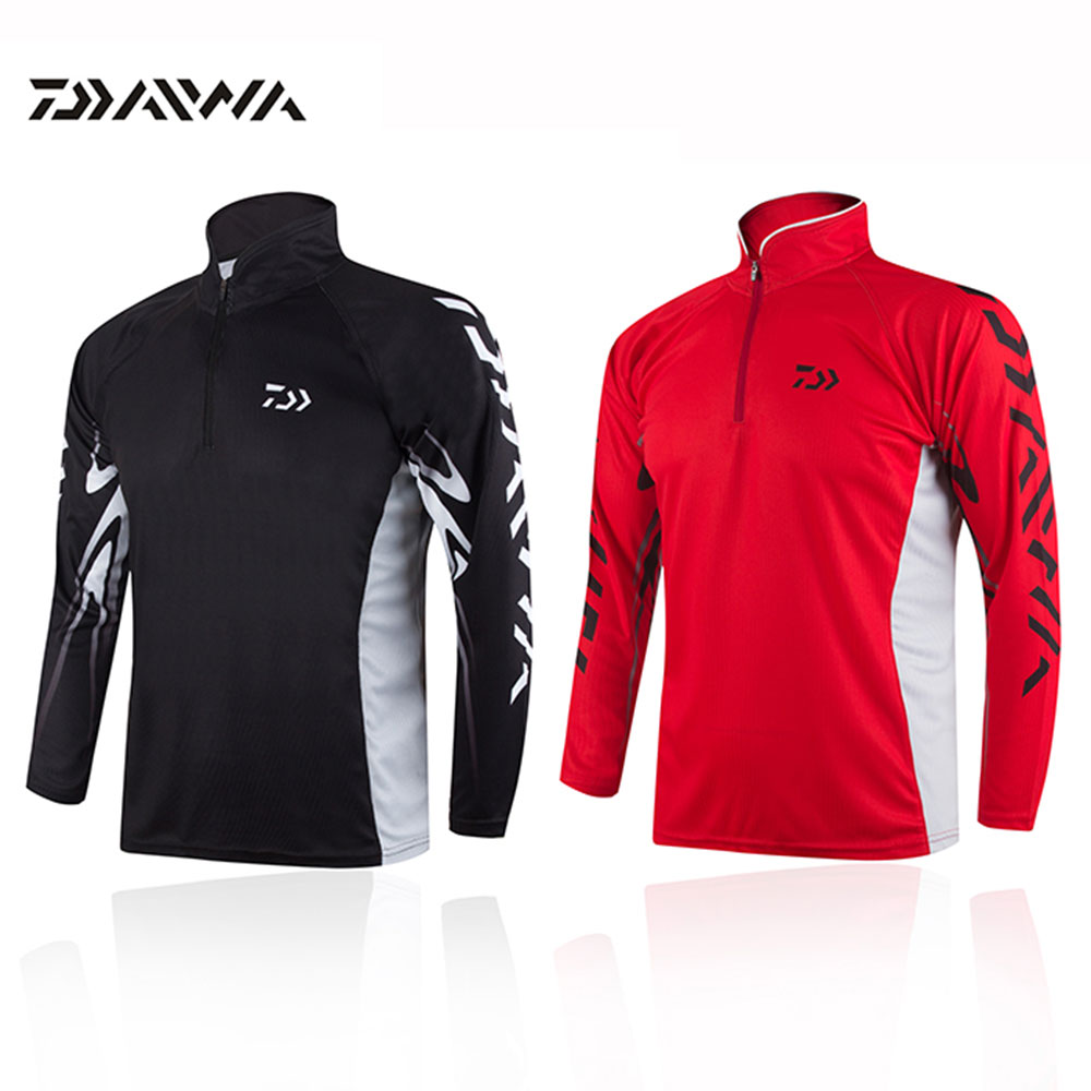 camisa daiwa clothes for fishing shirt breathable quick