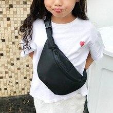 Поясная сумка для мальчиков и девочек, модная одноцветная сумка с карманами на талии, мини-сумки на ремне, сумка на грудь для детей,# YY