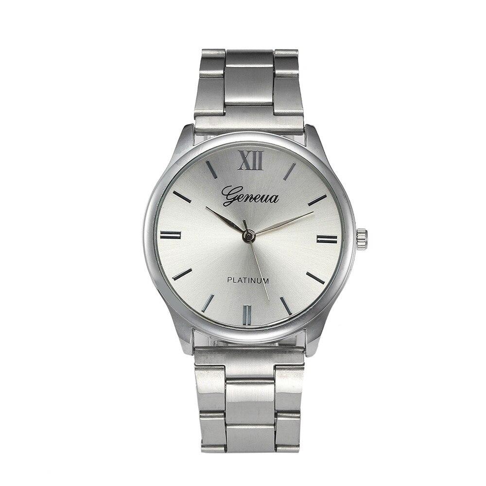 Man Women Ladies Roman Number Classic Wrist Watch montre femme zegarek damski relogio feminino час наручн час bayan saat C50 Наручные часы