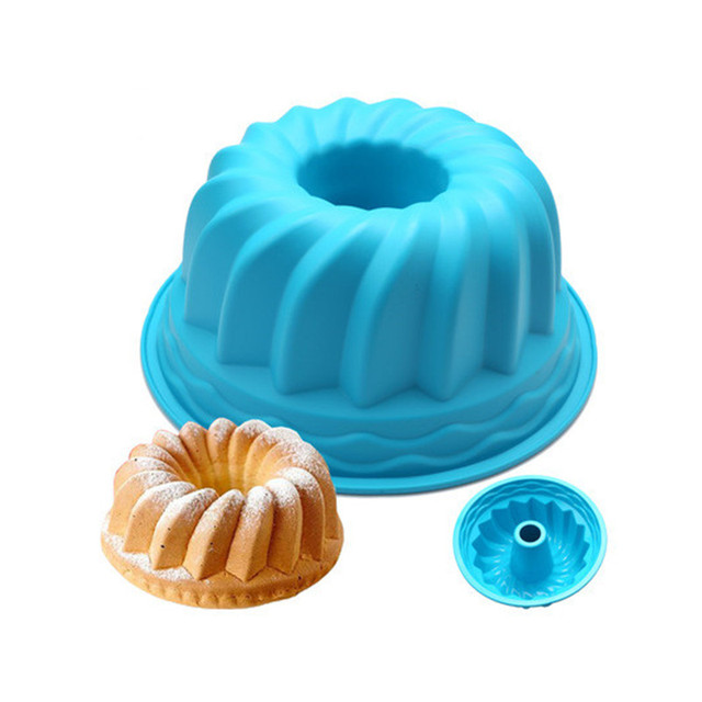 Round 3D silicone Cake mold Bread Loaf Fondant Mold Kitchen Dining Bar Baking Tray Pan Oven Mould Tools Accessories Supplies