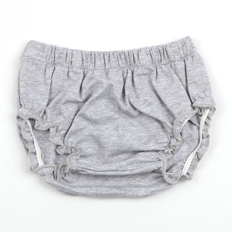 Купить с кэшбэком 4pcs/lot Baby Shorts Newborn Bloomers Baby Panties Elastic Solid Color Infant PP Shorts 100% Cotton Shorts Kids Bloomer 4 colors