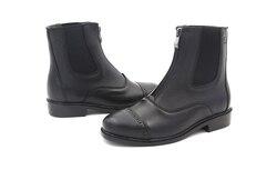 Aoud/сапоги для верховой езды; Высококачественная кожаная обувь на молнии; Paardrijden Laarze horse Hootsn; Холтер