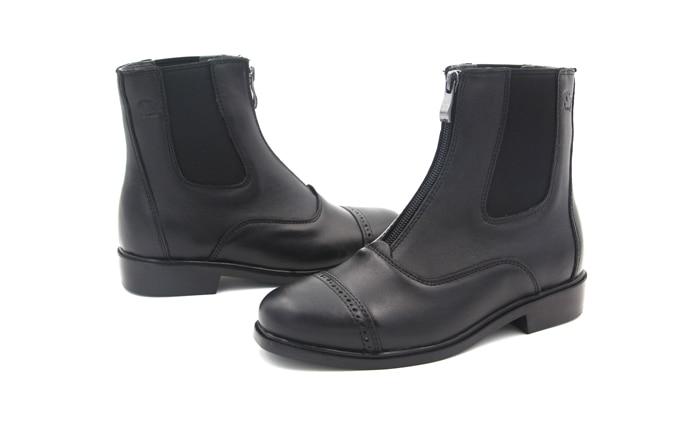 Aoud Horse Riding Boots Equestrian Boots Full Leather High Quality Zipper Shoes Men Women Paardrijden Laarze Horse Hootsn Halter