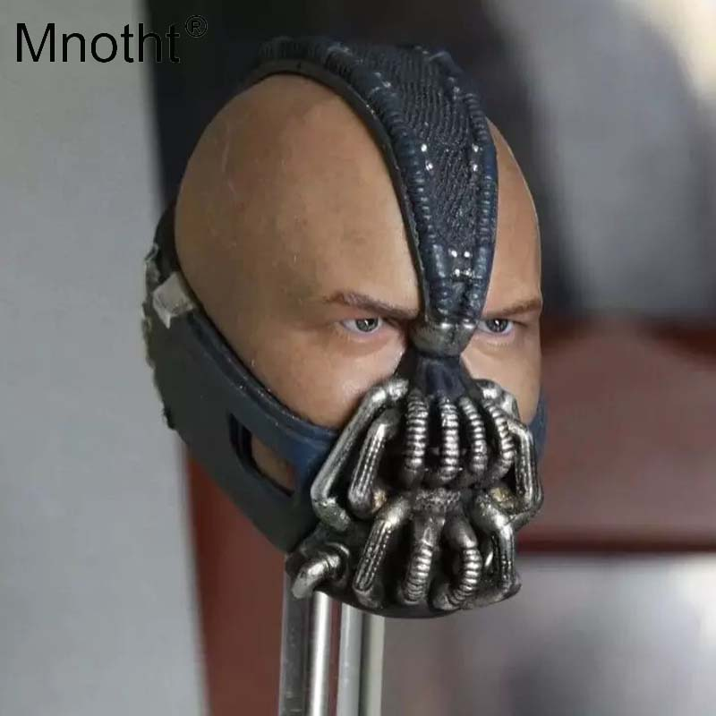 Mnotht 1/6 Scale The Rise of The Dark Knight Tom Hardy Bane Bash Head Sculpt for 12inch Hot Toys Phicen Action Figure DIY m3 keune мусс для волос форте keune design styling mousse forte 27261 500 мл