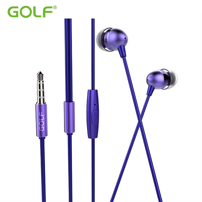 GOLF M7 3.5mm Jack Universal Stereo Earphones For iPhone 4S 5 5S 6 6S Samsung S6 S7 S8 LG HTC Moto Redmi Mobile Phone Earphone everybody s golf 2 psp