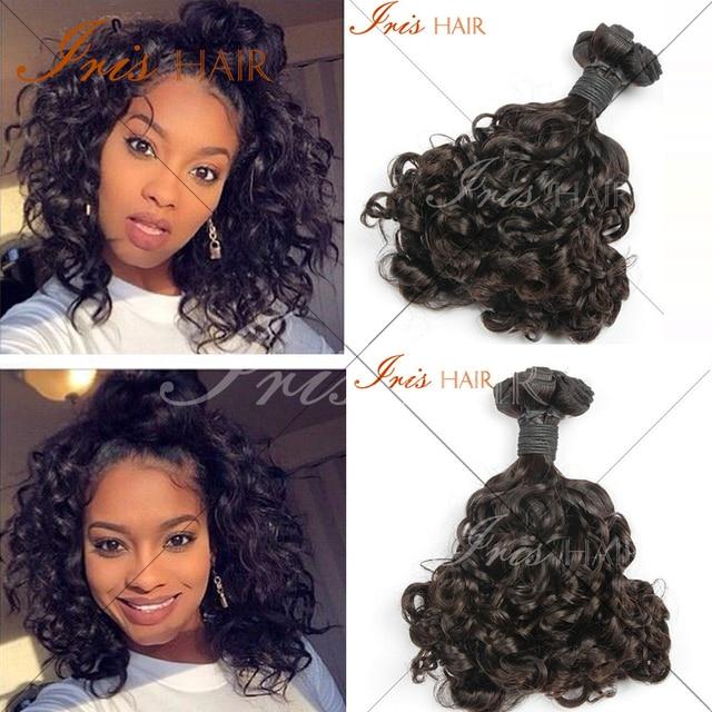 Cheap 6a Grade Brazilian Aunty Funmi Hair Weave Romance Curl Human