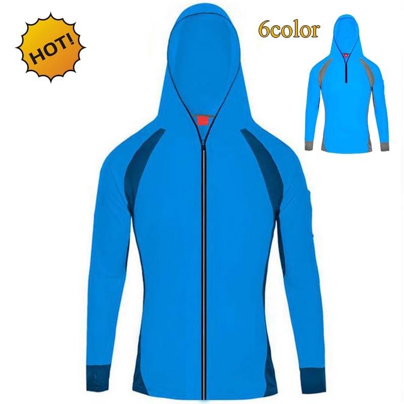 Estate 2017 Outdoor Protezione solare Protezione dalle radiazioni UV Abbigliamento Maglia a maniche lunghe da uomo traspirante Cappotto Quick-dry Ardigan