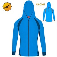 Summer 2017 Outdoors Sunscreen Radiation Protection UV Clothing Men's Long Sleeve Mesh Breathable Quick-dry Coat Ardigan