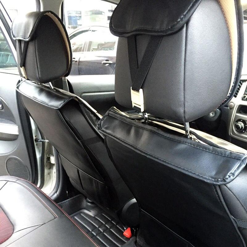 Siège auto en cuir synthétique polyuréthane couverture auto accessoires 2 pièces pour Chevrolet captiva chevy cruze epica equinox 2018 lacetti - 5