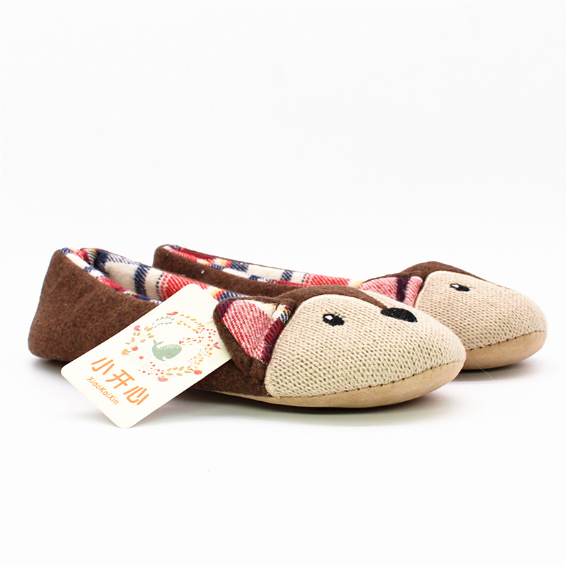 ladies ballet style house slippers winter women warm soft cotton