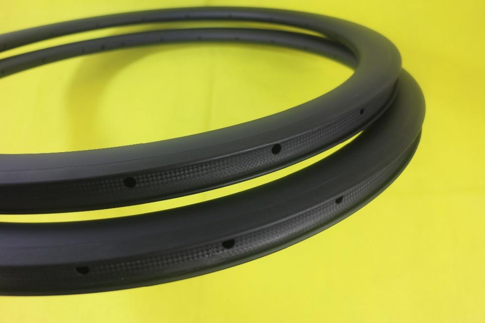 Speedsafe 700C U shape 45mm carbon rims 25mm width 16H 18H 20H 24H 28H 32H UD