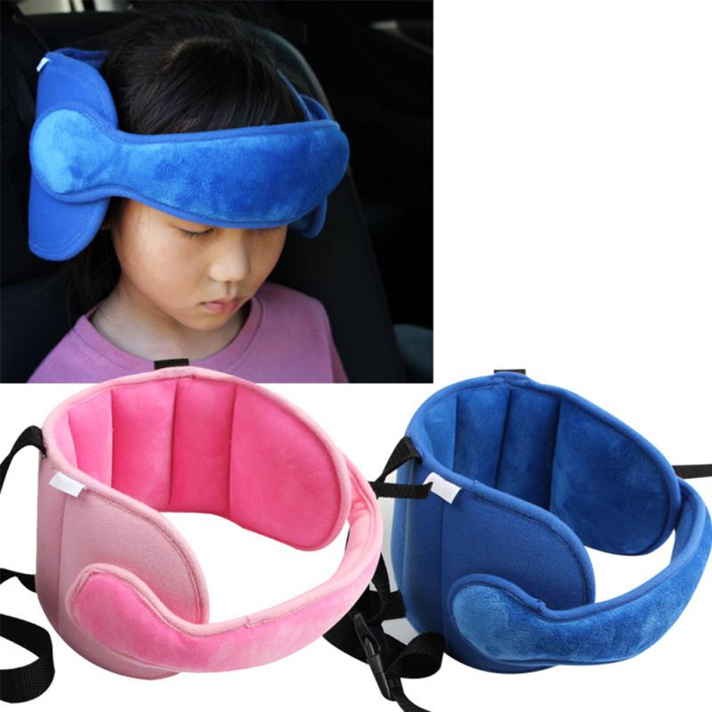 Baby Safety Car Accessories Head Fixed Sleeping Pillow Car Seat Kid Head Neck Protection Child Head Protector Belt Support