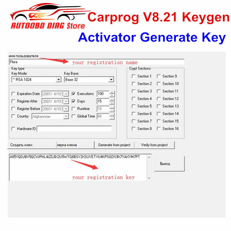 Detail Feedback Questions about Carprog V8 21 Keygen Online