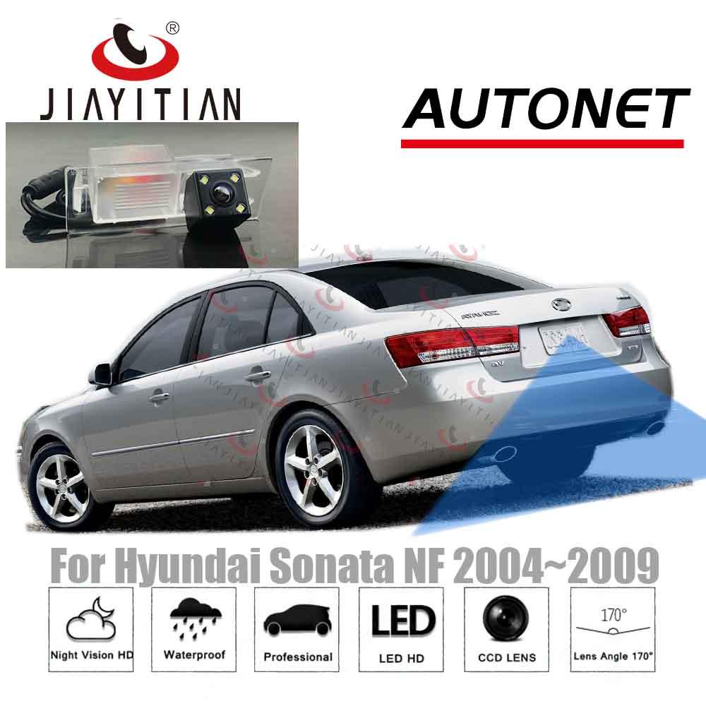 JiaYiTian rear view camera For Hyundai Sonata NF 2005 2004~2009 2006 ccd Night Vision Backup camera Parking license plate camera