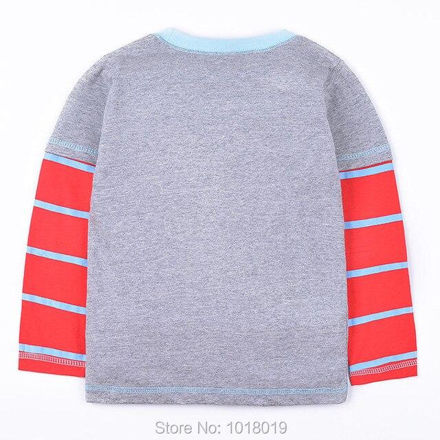 New 2018 Branded 100% Cotton Baby Boys t shirts Kids Clothing Clothes Children Long Sleeve t-shirts Boys Blouse Undershirts Boys