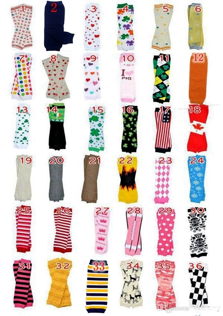 9a26c57394e26 318styles Chevron Baby Leg Warmer Children Christmas infant leggings Tights  Halloween Pumpkin Adult Arm warmers 60Pairs/lot
