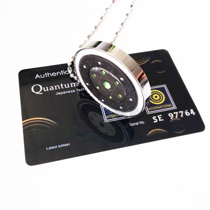 50 pcs wholesales quantum pendant 네거티브 이온 에너지 펜던트 참 5 색 hq 소매 패키지 상자 건강 보석 선물-에서펜던트부터 쥬얼리 및 액세서리 의  그룹 2