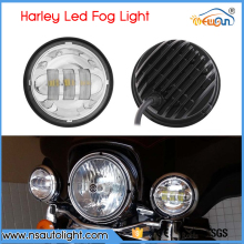 One Set 2PCS Harley Motorcycle Lamp 4.5Inch 30W 1260LM Motorbike LED Driving Fog Light For Yamaha Honda