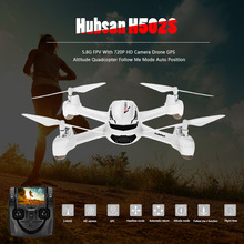 Original Hubsan X4 H502S Rc Helicopter 5.8G FPV With 720P HD Camera Drone GPS Altitude Quadcopter Follow Me Mode Auto Position(China)